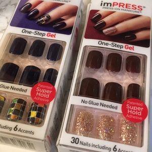 Impress manicure set brand new